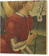 The Archangel Gabriel Wood Print