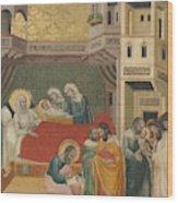 The Birth, Naming, And Circumcision Of Saint John The Baptist Wood Print