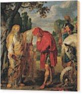 The Consecration Of Decius Mus        Wood Print