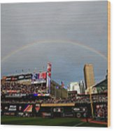 The Gillette Home Run Derby Wood Print