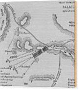 The Heavy Cavalry Charge At Balaclava Wood Print