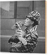 Tiger Lady Wood Print
