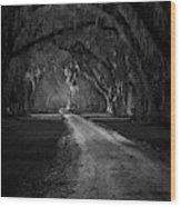 Tomotley Plantation II Wood Print