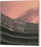 Toronto Blue Jays V Boston Red Sox Wood Print