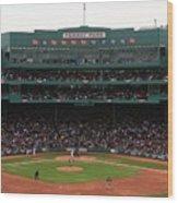 Toronto Blue Jays V Boston Red Sox Wood Print