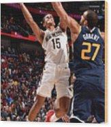 Utah Jazz V New Orleans Pelicans Wood Print