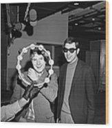 Van Morrison Bang Records Session Wood Print