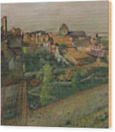 View Of Saint Valery Sur Somme  Wood Print