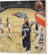 Washington Wizards V New Orleans Wood Print