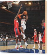 Washington Wizards V New York Knicks Wood Print