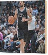 Washington Wizards V San Antonio Spurs Wood Print