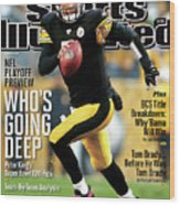 Whos Going Deep 2012 Nfl Playoff Preview Issue Sports Illustrated Cover Wood Print