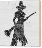 Wicked Witch Wood Print