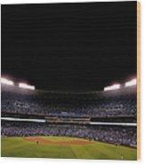 World Series - New York Mets V Kansas Wood Print