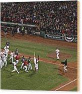 World Series - St Louis Cardinals V Wood Print