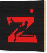 Zlatan Ibrahimovic Wood Print