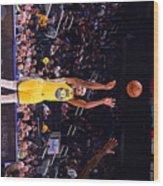 Charlotte Hornets V Golden State Wood Print