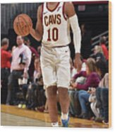 Chicago Bulls V Cleveland Cavaliers Wood Print