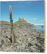 Holy Island Of Lindisfarne - England Wood Print