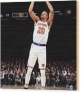 Indiana Pacers V New York Knicks Wood Print
