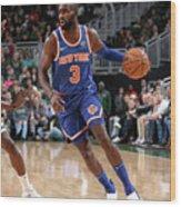 New York Knicks V Milwaukee Bucks Wood Print