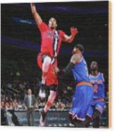 New York Knicks V Washington Wizards Wood Print