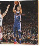 Philadelphia 76ers V Toronto Raptors Wood Print