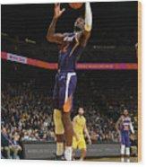 Phoenix Suns V Golden State Warriors Wood Print