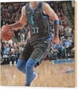 Sacramento Kings V Dallas Mavericks Wood Print