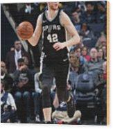 San Antonio Spurs V Memphis Grizzlies Wood Print