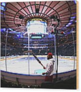 Washington Capitals V New York Rangers Wood Print