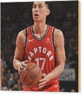Washington Wizards V Toronto Raptors Wood Print