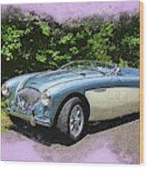 1956 Austin Healey 100-4 M  Wood Print