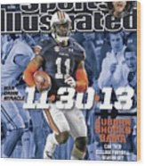 11-30-13 War Damn Miracle Auburn Shocks Bama Sports Illustrated Cover Wood Print