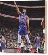 Charlotte Hornets V Detroit Pistons Wood Print