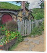 Hobbiton - New Zealand Wood Print