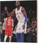 Houston Rockets V New York Knicks Wood Print