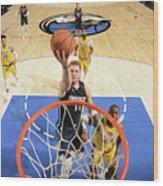 Los Angeles Lakers V Dallas Mavericks Wood Print