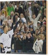 Mlb Sep 11 Orioles At Yankess - Derek 11 Wood Print