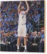 Utah Jazz V Oklahoma City Thunder - Wood Print