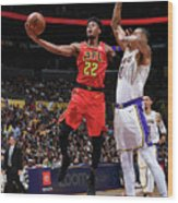 Atlanta Hawks V Los Angeles Lakers Wood Print
