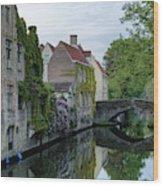 Brugge - Belgium Wood Print