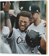 Chicago White Sox V Detroit Tigers - 12 Wood Print
