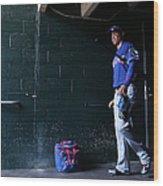 Texas Rangers V Detroit Tigers Wood Print