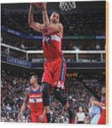 Washington Wizards V Sacramento Kings Wood Print