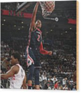 Washington Wizards V Toronto Raptors - Wood Print