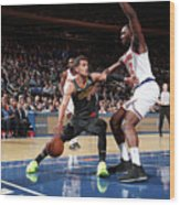 Atlanta Hawks V New York Knicks Wood Print