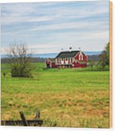 Codori Barn Wood Print