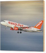 Easyjet Airbus A319-111 Wood Print