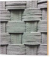 Fabric Background Wood Print